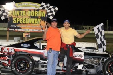New Smyrna Chevrolet >> L.B. Skaggs Wins Open Wheel Modified Race | Karnac Racing News