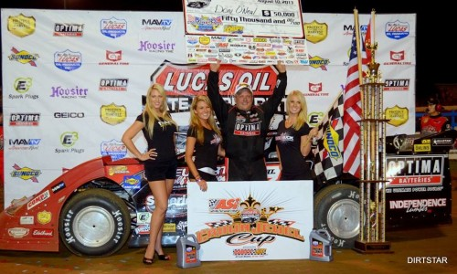O'Neal Owns Sunoco North/South 100 Presented by Lucas Oil at