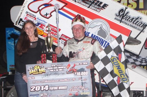 WAYNE JOHNSON HOLDS OFF ABREU TO CLAIM $10,000 IN THE 13TH ANNUAL RONALD LANEY MEMORIAL AT EAST BAY RACEWAY PARK