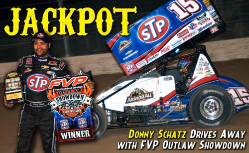 Donny Schatz Hits Jackpot in FVP Outlaw Showdown in Las Vegas