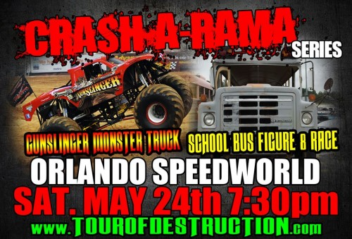 TIME AGAIN FOR CRASH-A-RAMA AT ORLANDO SPEEDWORLD
