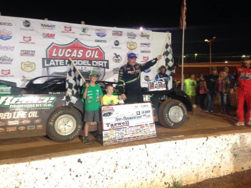 Owens Overtakes Bloomquist to Win Toyota Knoxville 50