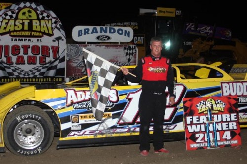 Jack Nosbisch, Jr. Gets The Job Done At East Bay Raceway Park Winning Late Model Feature