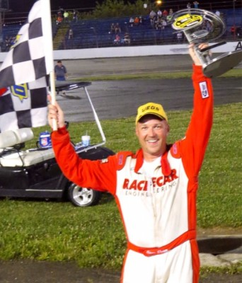 Steve Dorer Survives Rain Delay; Leads All 100 Laps At Anderson Speedway For First JEGS/CRA All-Stars Tour Win