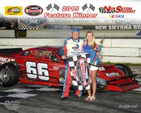 Jerry Symons was back in Modified victory lane (Jim Jones Photo)