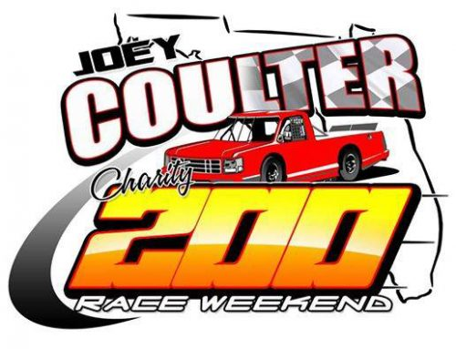 11th ANNUAL JOEY COULTER CHARITY RACE WEEKEND IS JUST TWO WEEKS AWAY