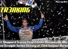 Matt Sheppard Scores First Career Ransomville Win at Summer Nationals