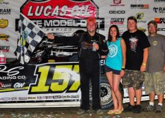 Mike Marlar Wins Night #2 at Knoxville Raceway