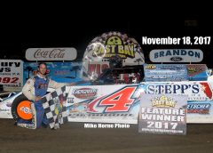 Varnadore Wins 50 Lap Topless Modified Feature at East Bay Raceway Park