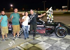 SSCS MODIFIED AND STREET STOCK WINS TAKEN BY SKAGGS AND GIBSON AT AUBURNDALE SPEEDWAY