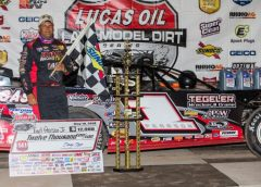 Late Pass Propels Pearson at 141 Speedway