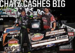 Donny Schatz Pockets $40,000 with AGCO Jackson Nationals Win