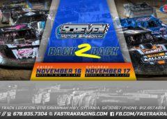 FASTRAK Season finale at Screven; November 16th and 17th