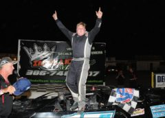 "New Show Brenden Smith ""Parks It"" in VSP Victory Lane"