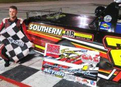 CODY McDUFFIE SURVIVES WILD FLORIDA PRO TRUCK SERIES RACE AT AUBURNDALE SPEEDWAY