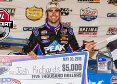 Richards Roars to First Lucas Oil Win of the Season