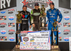 Owens Repeats as Late Model Knoxville Nationals Champ