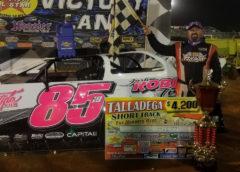 Jason Hiett Wins B J Parker Memorial Southern All Stars At Talladega Short Track