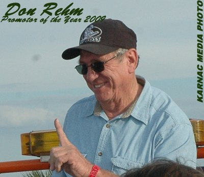 Don Rehm 2009 Promoter of the Year